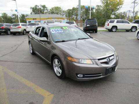 2007 Acura TL for sale at Auto Land Inc in Crest Hill IL
