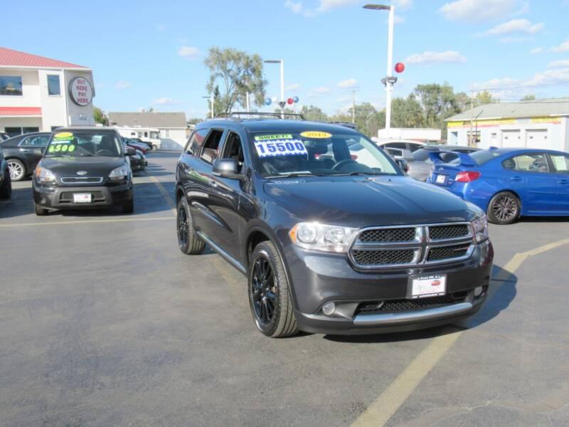 2013 Dodge Durango for sale at Auto Land Inc in Crest Hill IL