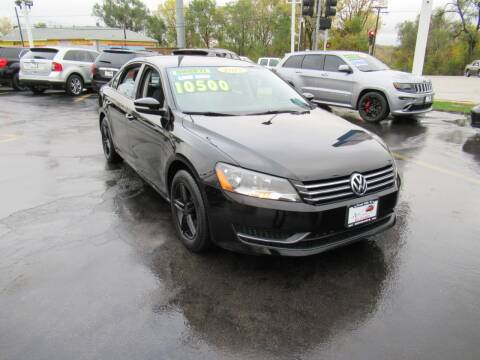 2014 Volkswagen Passat for sale at Auto Land Inc in Crest Hill IL