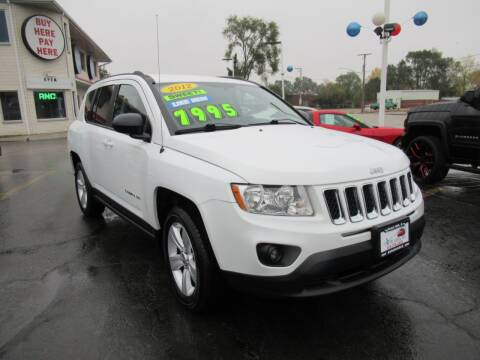 2012 Jeep Compass for sale at Auto Land Inc in Crest Hill IL