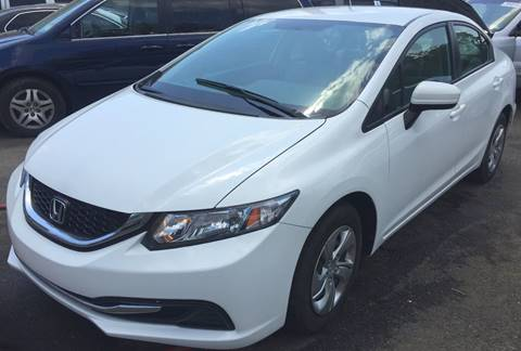 2014 Honda Civic for sale in Paterson NJ