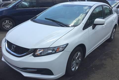 2014 Honda Civic for sale in Paterson NJ