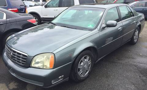 2004 Cadillac DeVille for sale in Paterson NJ