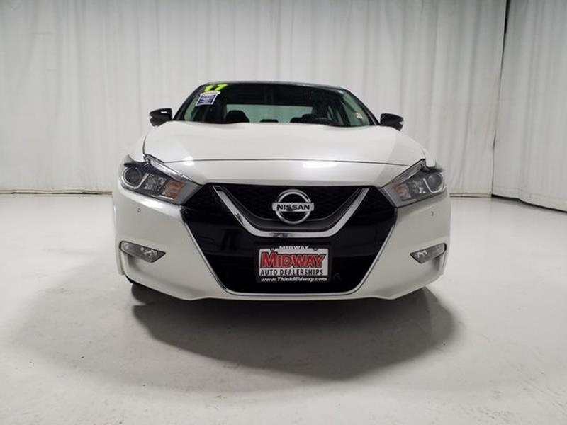 2017 Nissan Maxima Platinum 4dr Sedan In Kearney Ne Midway Auto Outlet