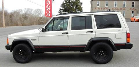 1996 Jeep Cherokee for sale at Mountain State Preowned Auto Sales LLC in Martinsburg WV