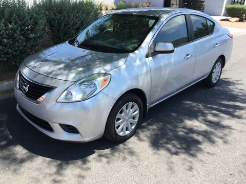2012 Nissan Versa for sale in Las Vegas, NV