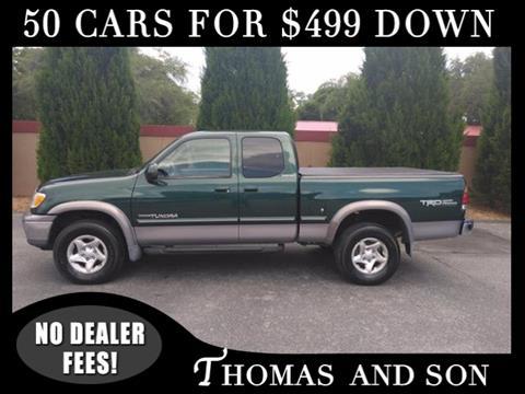 2002 Toyota Tundra for sale in Zephyrhills, FL