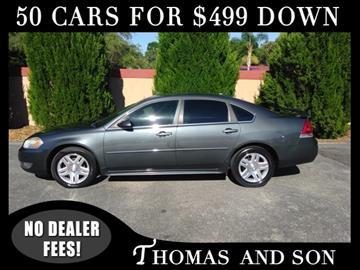 2010 Chevrolet Impala for sale in Zephyrhills, FL