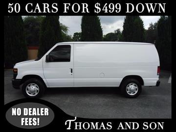 2014 Ford E-Series Cargo for sale in Zephyrhills, FL