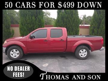 2007 Nissan Frontier for sale in Zephyrhills, FL