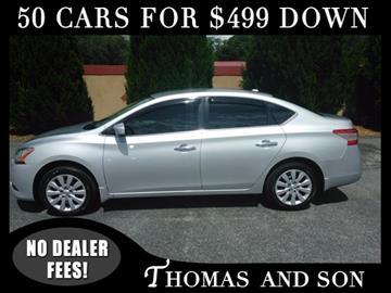 2013 Nissan Sentra for sale in Zephyrhills, FL