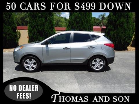 2013 Hyundai Tucson for sale in Zephyrhills, FL