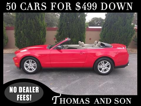 2011 Ford Mustang for sale in Zephyrhills, FL