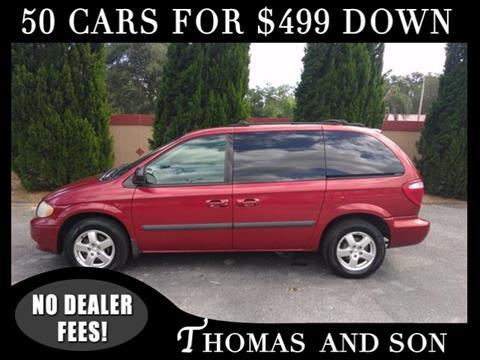 2005 Dodge Caravan for sale in Zephyrhills, FL