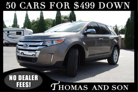 Ford Edge For Sale At Thomas Son Inc In Zephyrhills Fl