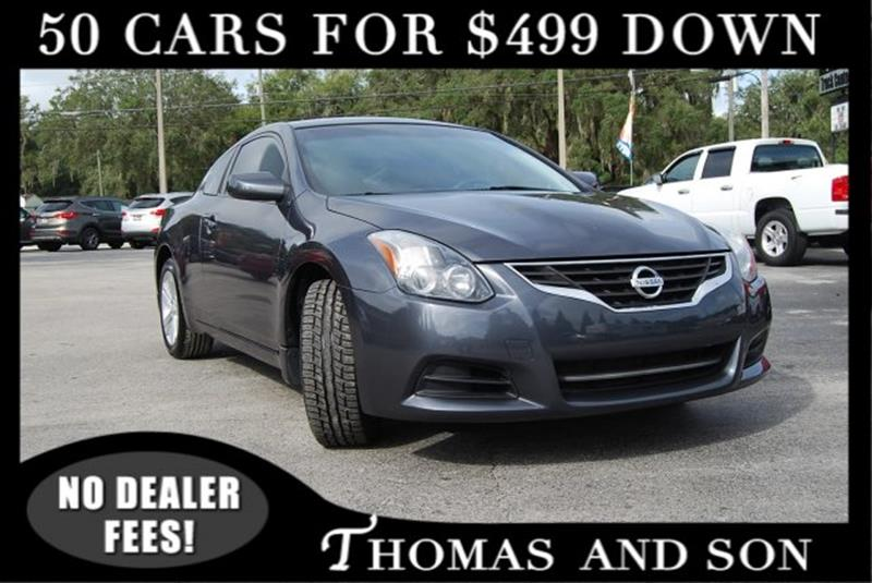2012 Nissan Altima For Sale At Thomas U0026 Son Inc In Zephyrhills FL