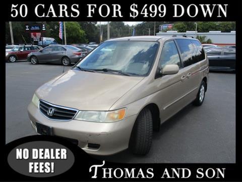 2002 Honda Odyssey for sale in Zephyrhills, FL