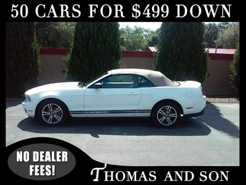 2010 Ford Mustang for sale in Zephyrhills, FL