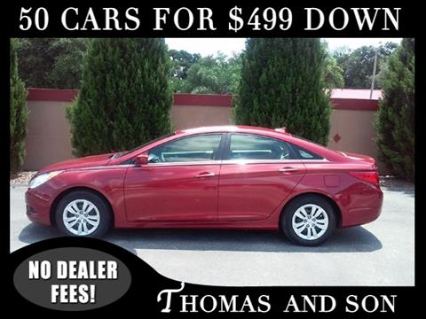 2012 Hyundai Sonata for sale in Zephyrhills, FL