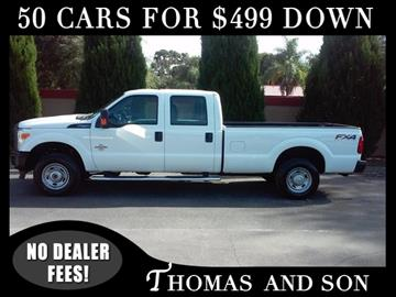 2015 Ford F-250 Super Duty for sale in Zephyrhills, FL