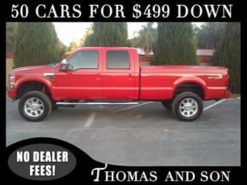 2008 Ford F-250 Super Duty for sale in Zephyrhills, FL