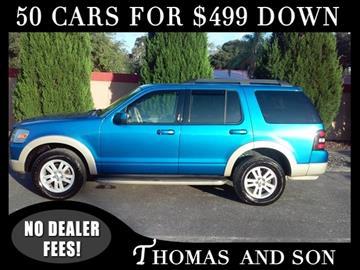 2010 Ford Explorer for sale in Zephyrhills, FL