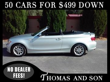 2011 BMW 1 Series for sale in Zephyrhills, FL