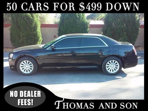 2013 Chrysler 300 for sale in Zephyrhills, FL