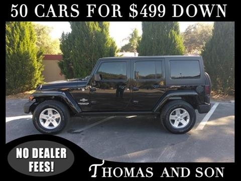 2014 Jeep Wrangler Unlimited for sale in Zephyrhills, FL