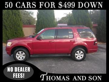 2009 Ford Explorer for sale in Zephyrhills, FL