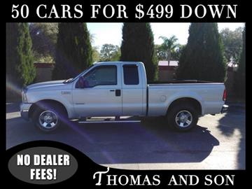2007 Ford F-250 Super Duty for sale in Zephyrhills, FL