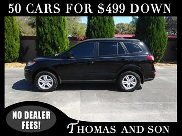 2012 Hyundai Santa Fe for sale in Zephyrhills, FL