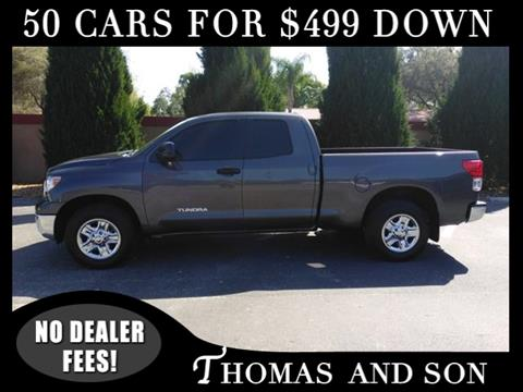 2012 Toyota Tundra for sale in Zephyrhills, FL