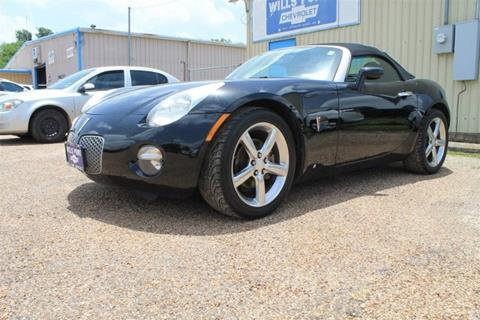 2009 Pontiac Solstice for sale in Wills Point, TX
