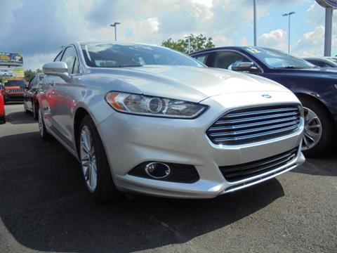 2016 Ford Fusion for sale in Elkins, WV
