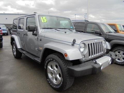 2015 Jeep Wrangler Unlimited for sale in Elkins, WV