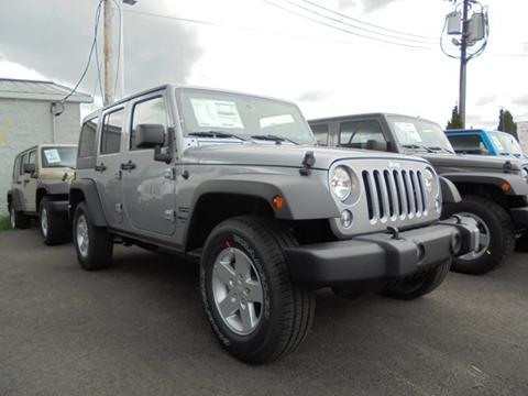 2017 Jeep Wrangler Unlimited for sale in Elkins, WV