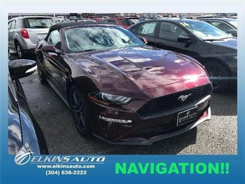 2018 Ford Mustang for sale in Elkins, WV