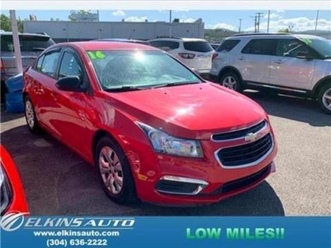 2016 Chevrolet Cruze Limited for sale in Elkins, WV
