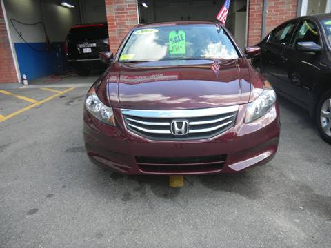 2011 Honda Accord for sale at Washington Street Auto Sales in Canton MA