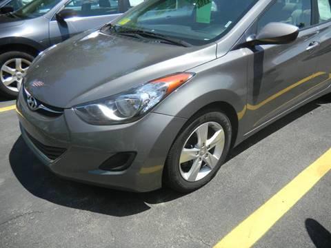 2013 Hyundai Elantra for sale at Washington Street Auto Sales in Canton MA