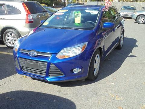 2012 Ford Focus for sale at Washington Street Auto Sales in Canton MA