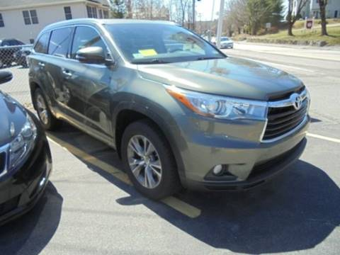 2015 Toyota Highlander for sale at Washington Street Auto Sales in Canton MA