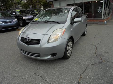 2007 Toyota Yaris for sale at Washington Street Auto Sales in Canton MA
