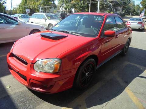 2004 Subaru Impreza for sale at Washington Street Auto Sales in Canton MA
