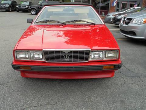 1986 Maserati Spyder for sale in Canton, MA