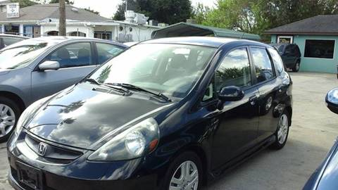 2008 Honda Fit for sale at Express AutoPlex in Brownsville TX
