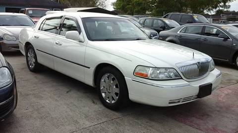 2003 Lincoln Town Car for sale at Express AutoPlex in Brownsville TX
