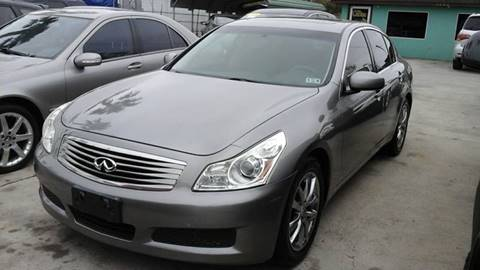 2008 Infiniti G35 for sale at Express AutoPlex in Brownsville TX