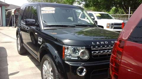 2010 Land Rover LR4 for sale at Express AutoPlex in Brownsville TX